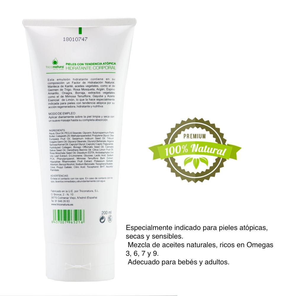 Crema especial pieles atopicas con Rosa Mosqueta, aceite de Argan y aceite de Onagra. Especialmente indicado para pieles secas y sensibles.