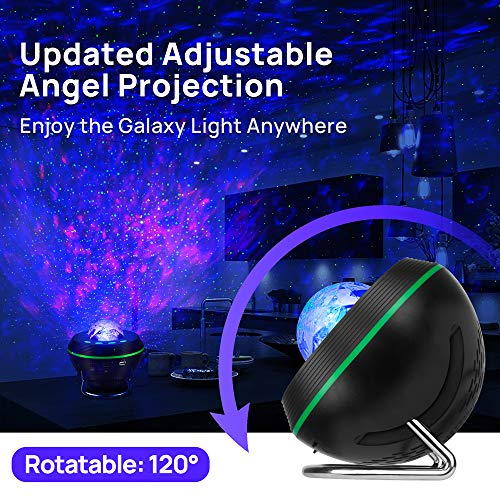 Galaxy Projector for Bedroom, GoLine Star Projector Night Light Work with Echo Alexa, Mother Day Birthday Gifts for Mom…