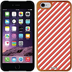 Coveroo iphone 5c Madera Wood Thinshield Case with Candy Cane Design