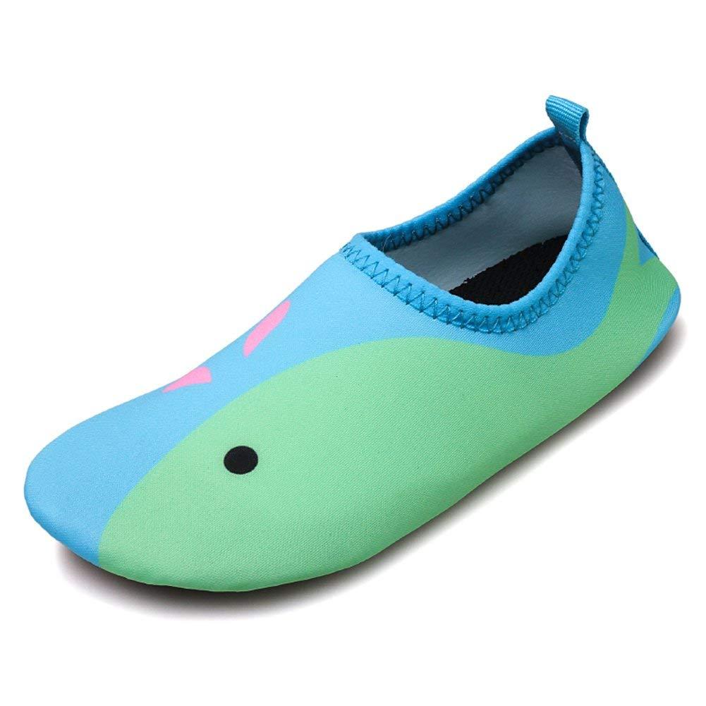 JACKSHIBO Jungen M/ädchen Strandschuhe Schwimmschuhe Aqua Schuhe Unisex-Kinder Surfschuhe Badeschuhe