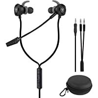 BlueFire 3.5 MM Gaming Headphone Wired Gaming Earphone Noise Cancelling Stereo Bass E-Sport Earphone with Adjustable Mic…