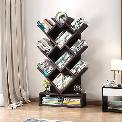Marvelous Amazon Com Zhirong Tree Shape Bookshelf Creative Children Home Interior And Landscaping Palasignezvosmurscom