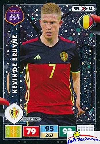 Bel10-Kevin De Bruyne-Team Mates-PANINI ADRENALYN ROAD TO WORLD CUP 2018