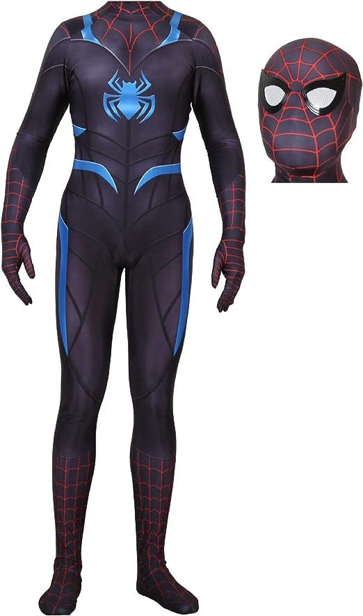 QWEASZER War Spider-Man Spandex Traje de Mono Marvel Avengers ...