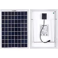 Betop-camp Paneles solares mono de 10W 12V para automóviles, caravanas, autocaravanas, barcos - con pinzas de cocodrilo…