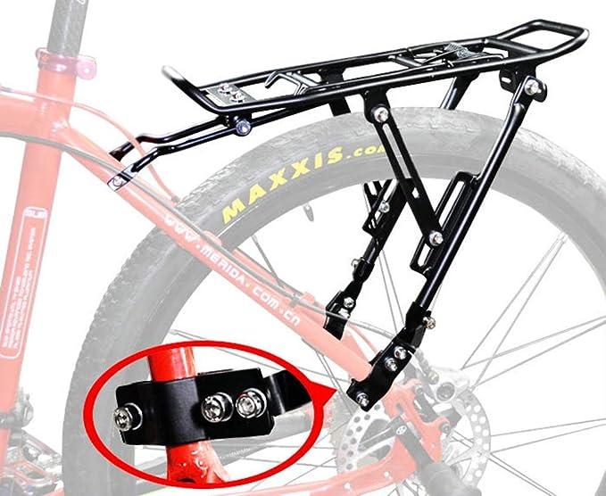 LQFLD Accesorios para Bicicletas, Bicicleta Portador Trasero Carga ...