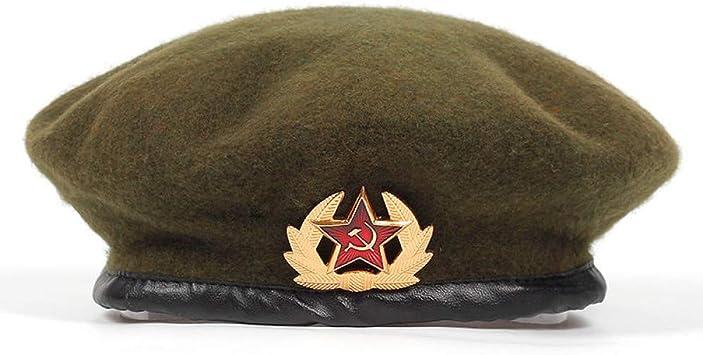 LMZXH&M Boinas del Ejército para Hombres Mujeres Emblema Nacional ...