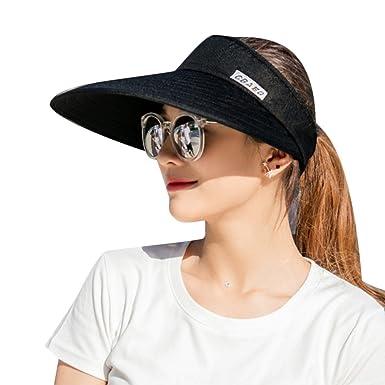 afad8ddbc7b Sun Visors Hat for Women Girls