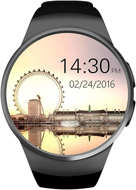 Bluetooth Smartwatches Reloj Inteligente, con corazón Monitor ...