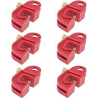 6pcs Bloqueos de Interruptores Automáticos Cerraduras de Disyuntores