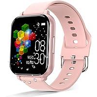 Smartwatch Deportivo, Rastreador de Actividad Física de 1.55 Pulgadas, Pulsera Inteligente, Reloj Inteligente con…
