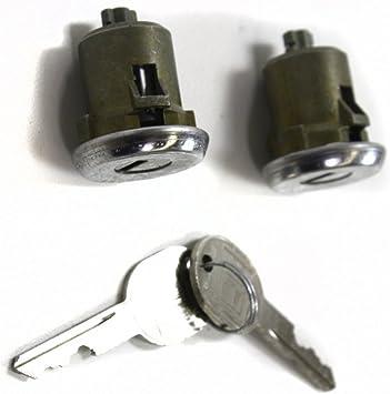 Pontiac Grand Am 79-91 Ignition Key Switch Lock Cylinder Tumbler 2 Key Black
