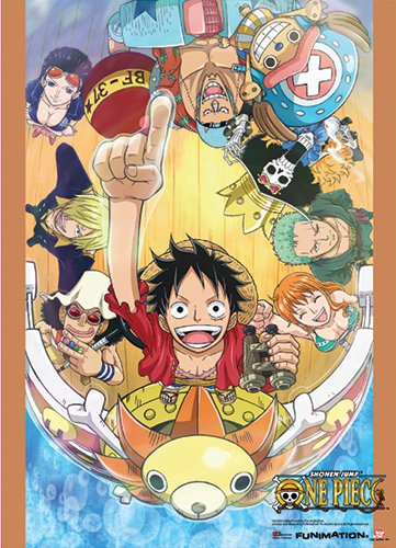 Great Eastern Entertainment One Piece Group Go on Board Wall