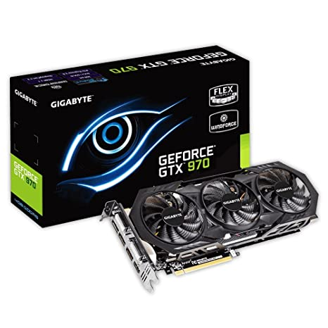 Gigabyte GV-N970WF3OC-4GD NVIDIA GeForce GTX 970 4GB ...