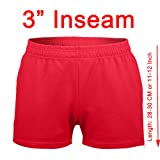 """MUSCLE ALIVE Mens Workout Shorts Gym With 3"""" Inseam"""