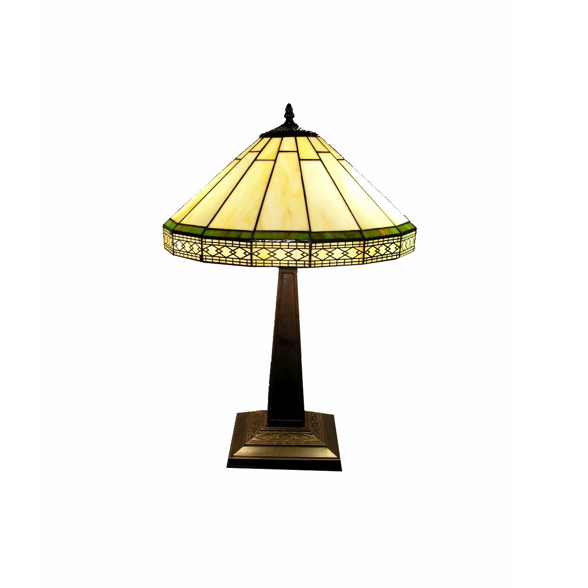 Whse of Tiffany F16257 Tiffany-Style Roman Table Lamp