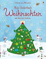 Mein Stickerbuch: Weihnachten: Usborne zum Mitmachen