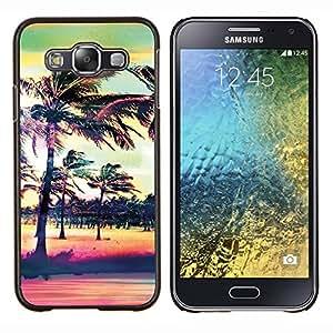 Dragon Case - FOR Samsung Galaxy E5 E500 - A good beginning - Caja protectora de pl??stico duro de la cubierta Dise?¡Ào Slim Fit