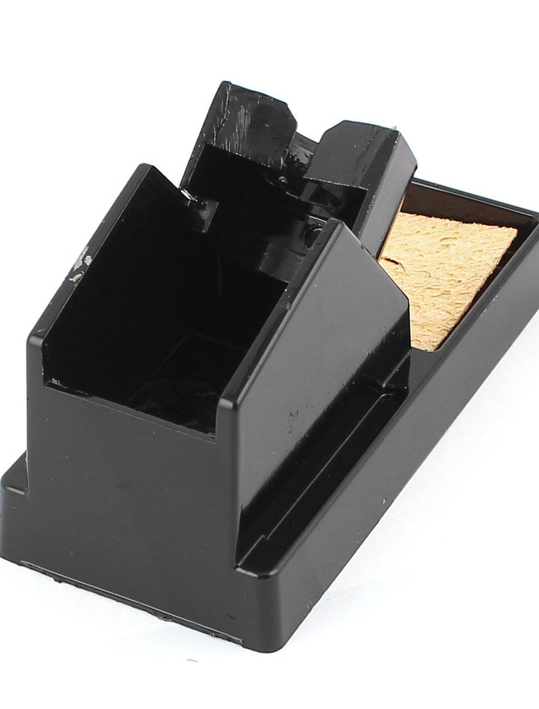 Rectangular Base Stand Holder for Soldering Iron Black