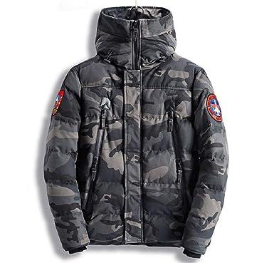 KAIMENG Abrigos de Camuflaje de los Hombres Calientes Outwear Espesan Chaquetas: Amazon.es: Ropa y accesorios