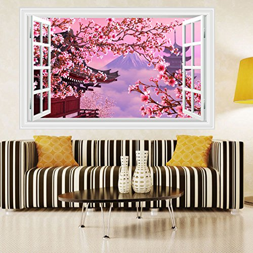 durable modeling 3D three-dimensional mural PVC Wall Stickers Wall Decal Art Sticker Pack Wall Decor Decal Sticker-6090cm