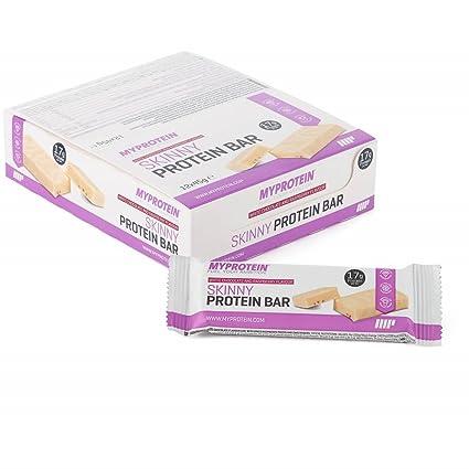 MyProtein Barras y Bebidas Nutritivas, Sabor Chocolate Banco y Frambuesa - Paquete de 12 x
