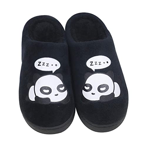 QZBAOSHU Panda Slippers for Women Slippers for Men 8/9 US Women (Label Size