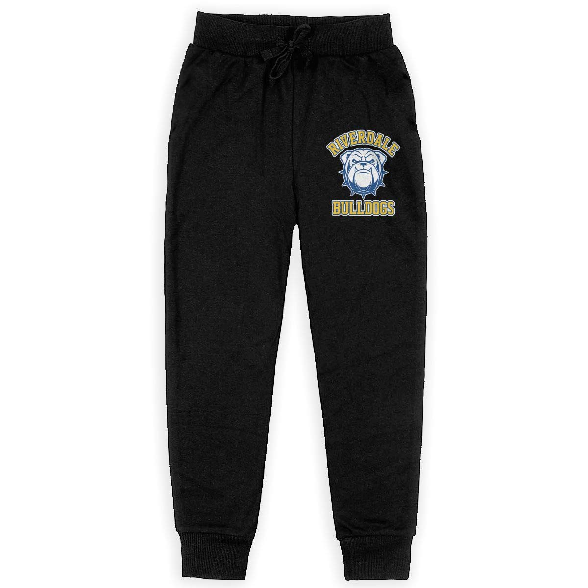 Kim Mittelstaedt Riverdale Bulldogs Boys Big Active Basic Casual Pants Sweatpants for Boys Black