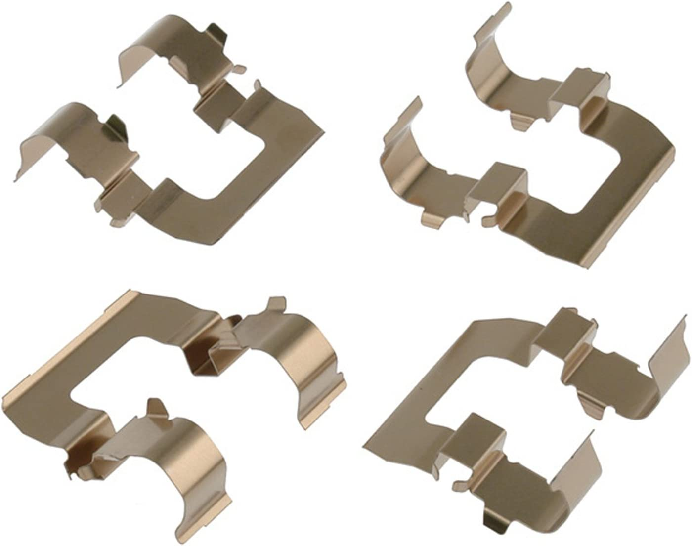 ACDelco 18K1057X Professional Rear Disc Brake Caliper Hardware Kit with Clips