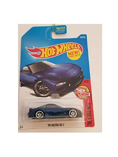Mazda Rx7 2017 >> Hot Wheels 2017 Then And Now 95 Mazda Rx 7 336 365 Blue
