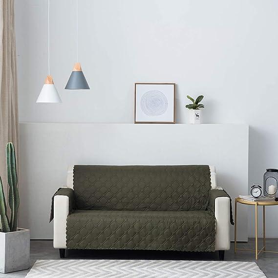 PETCUTE Fundas para Sofa Impermeable Sofá Cubre Reversibles ...