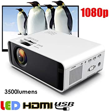 Wendry Proyector, proyector 3D W80 480p, proyector LCD HD portátil ...