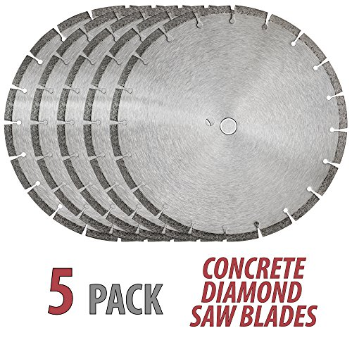 5QTY 14'' DIAMOND SAW BLADE CONCRETE BRICK BLOCK STONE ROCK MASONRY 10MM Segments by Couldnt find