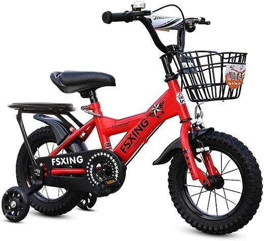 SONG Bicicleta para niños Bicicletas 2-3-5-6-7 Años De Edad De Los ...