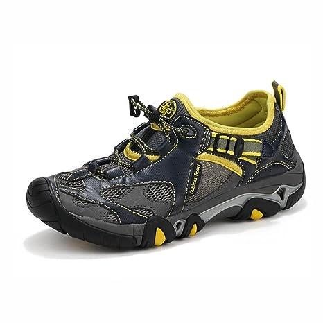 bf48c47913 YaXuan Scarpe da ginnastica da uomo, Scarpe da trekking estive per l ...