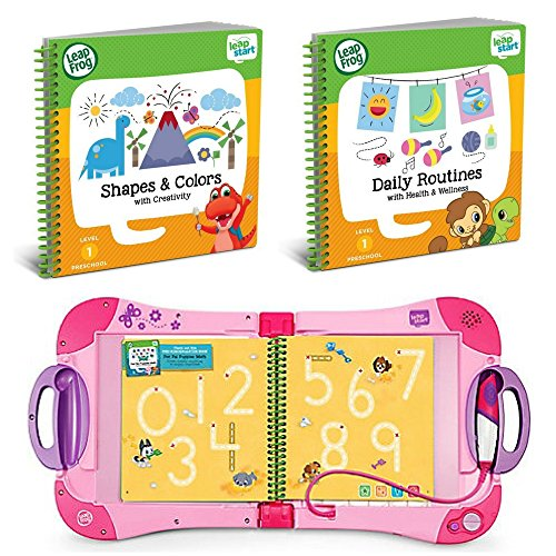 LeapFrog LeapStart Preschool To 1st Grade Learning System Pink Plus Level 1 Activity Books, Learn Basic Skills For Life, Kids Fun Interactive Toys and Books, Educational Tools, Early Schooling Bundle by LeapFrog (Image #7)