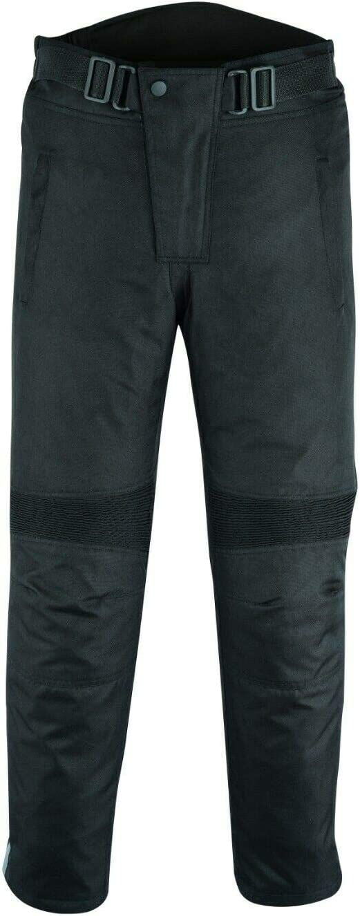 W34 L32 Black MLL Breathable CE Armoured Waterproof Motorcycle//Motorbike Cordura Trousers