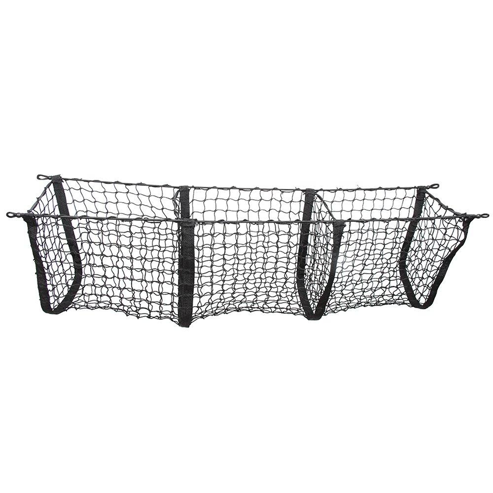 Black Three-Pocket Storage Cargo Net For Acura MDX 2007-2018 NEW POZEL 5559012422