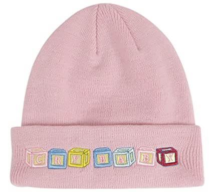 Melanie Martinez Cry Baby Blocks Beanie  Amazon.co.uk  Clothing d3e3777e284