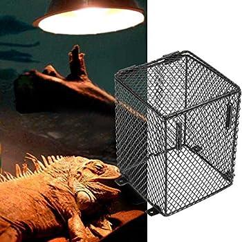 Amazon Com Zeroyoyo Reptile Basking Lamp Guard Bulb Cage