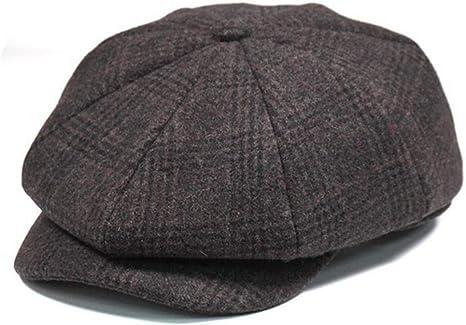 8 Panel Octagonal Caps Summer Stripe Newsboy Caps Flat Ivy Gatsby Beret Hat for Driving