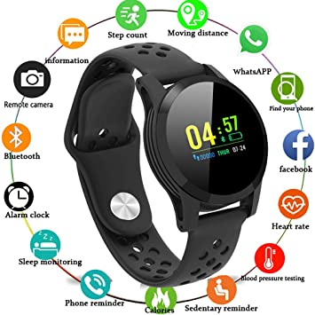 Amazon.com: MKO Smart Fitness Bracelet-Smart Band-Blood ...