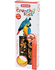 Zolux Crunchy Stick Friandise per pappagallo Arachide/Banana 115g