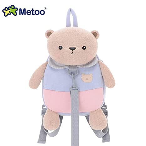 Jewh 30cm MeToo Stuffed Plush Animal Kids Baby Bags Cartoon Doll Toy Children Shoulder Bag for