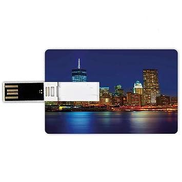8GB Forma de tarjeta de crédito de unidades flash USB Urbano ...