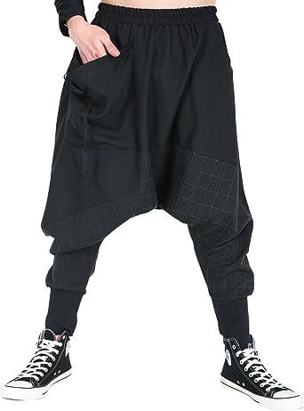 Amazon Com Elazhu Gym188 A Pantalones De Cintura Elastica Para Hombre Clothing