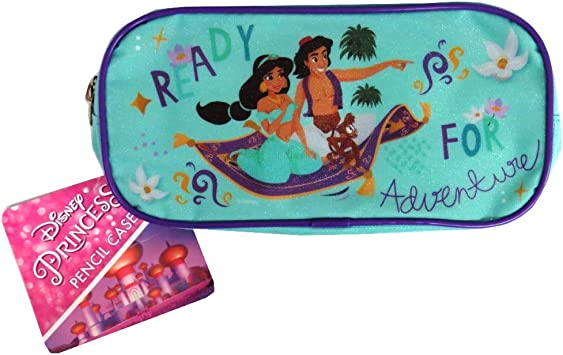 Disney Princess Jasmine Magical Adventure - Estuche para lápices, diseño de princesas: Amazon.es: Oficina y papelería
