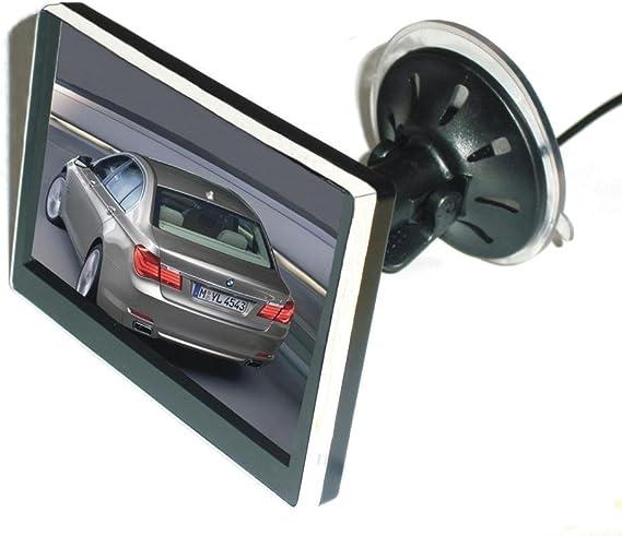 Mvp 4 3 Tft Lcd Auto Monitor Rückspiegel Mit Saugnapf Digital Für Auto Kfz Rückfahrkamera Auto
