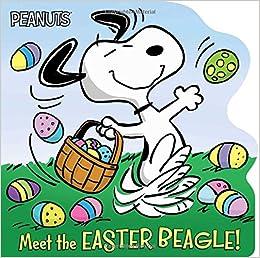 Easter snoopy. Meet the beagle peanuts