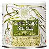 The Garlic Box Garlic Scape Sea Salt 140 Gram